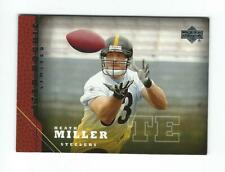 2005 Upper Deck #213 Heath Miller RC Rookie Steelers SSP
