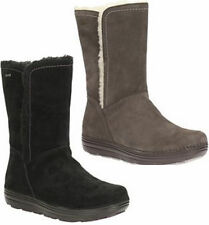 Clarks Patternless Suede Boots for Women