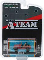 """Greenlight """"The A-Team"""" (1983-87 TV Series) Jeep CJ-7 1/64 Diecast Car 44840C"""