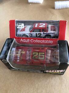 Racing Collectable Tim Richmond #25 Folgers & #12 BUDWEISER Neil BONNETT 1:64NEW