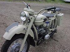 Motorcycle FRONT FENDER LICENSE PLATE for Ural Dnepr BMW Honda Chopper HARLEY