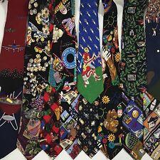 14 pc Vtg 90's NICOLE MILLER Vicky Davis Men COLLECTIBLE NOVELTY Neck Tie LOT