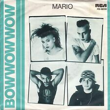 "Bow Wow Wow - Mario / Lonesome Tonight (7"" RCA Vinyl-Single England 1988)"