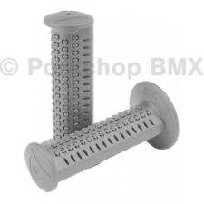 AME old school BMX CAM CAMS bicycle grips - GRAY GREY *MADE IN USA*