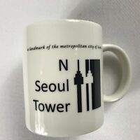 Seoul Tower Coffee Mug South Korea Collectible Cup Metropolitan City Building