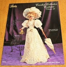 Paradise: Crochet - 1903 Bride'S Going Away Dress - Vol. 59 # P-070 Fashion Doll