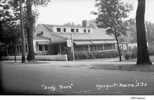 1930's Betty Doon Restaurant, Ogunquit, Maine Original Negative & CD for Sale!