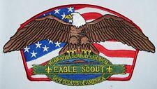 Hiawatha Seaway Council (NY) Eagle Scout Jacket Patch (Design of SA-62)  BSA