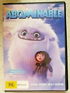 Abominable DVD - Dreamworks - Find your way home.