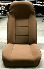 Front Standard Bucket Seat for Jeep CJ Wrangler 1976-02 Spice Rugged Ridge