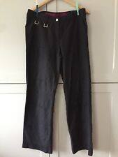 Street One ladies black casual trousers. Size 14