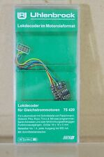 UHLENBROCK 75420 DIGITAL LOCO DECODER 8PIN Compatible with FLEISCHMANN ROCO TRIX