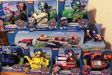 Paw Patrol PAW PATROLLER w/ 8 VEHICLE PLAYSETS COMPLETE SET TRANSPORTER TRUCK