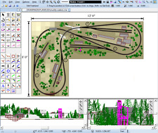 Design Build Model Railway Track Layout Plans Cad Software Hornby Oo Guage Ebay