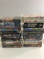 Lot Of 22 - - VHS Movies Cassette Tapes - Mixed - Some Rare