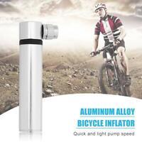 Aluminum Alloy Mini Bike Bicycle Pump Hand Air Pump MTB AV/FV Ball Tire Inflator