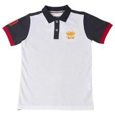 T-shirts, débardeurs et chemises blanches coton mélangé à manches courtes pour garçon de 2 à 16 ans