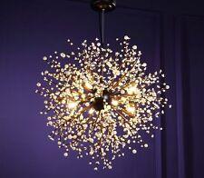 Chandelier Light Fixture LED Modern Ceiling Home Lightning Entry Way Centerpiece