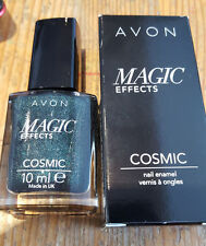 AVON MAGIC EFFECTS COSMIC MAGNETIC NAIL ENAMEL ECLIPSE
