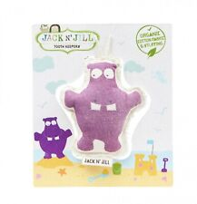 Jack N' Jill Tooth Keeper Hippo - Organic Cotton Fabric & Stuffing