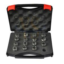 Precision Pack 15PCS  ER25  COLLET SET ( 2mm-16mm) CNC Tool Holder
