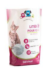 Litiere pour Chat Gel de Silice 3.8l Perles absorbantes anti odeurs