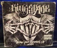 Kingspade - Throw Your Spades UP CD / DVD set w/ Bonus Disc kottonmouth kings