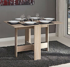 Fold Away Dining Table Drop Leaf Furniture Small Oak Kitchen Extendable Folding