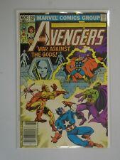 Avengers #220 Newsstand edition 4.0 VG (1982 1st Series)