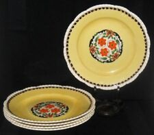 Pottery Pottery, Porcelain & Glass Well-Educated Adams Royal Ivory Titian Ware Hand Painted Jug Pink Blue Yellow Cream