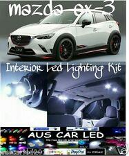 Mazda Cx-3 cx3 Bright White LED Interior Light bulb globe kit package