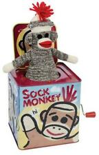 Schylling Sock Monkey Jack Musical Toy T23