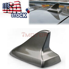 US 1Pcs Roof Dark Grey Shark Fin Style Aerial Antenna Decor For Universal Car