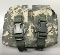 US Military New MOLLE Tactical Assault Gear 4 Mag Ammunition Pouch Army Surplus