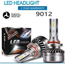 9012 60W 12000LM LED Headlight Kit High Low Beam Bulb Super Bright 6000K  X
