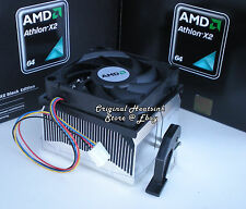 Athlon 64 X2 Cooler Fan & Heatsink for 4400 4600 4800 CPU Socket AM2 AM3 - New