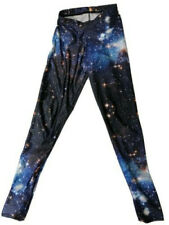 Black Milk Clothing Blue Galaxy Leggings SMALL original cut Space
