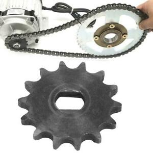 1X 14 Tooth Sprocket Pinion Gear 428 Metal Chain Sprocket For Electric Scooter