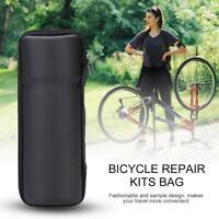 Portable Bicycle Repair Kit Tools Bag Bike Kettle Rack Bottle Hard-Shell Package