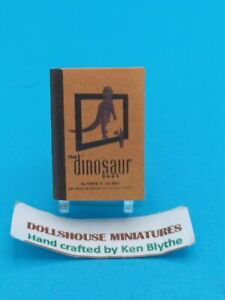 1:12 Scale Book, The Dinosaur Book,1945 Crafted By Ken Blythe
