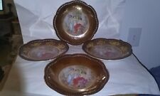 SCHUMANN BAVARIA Pierced Salad Plates Set of 4