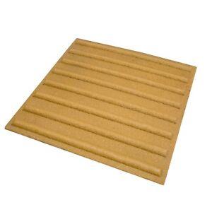 QuartzGrip® Anti Slip Tactile Flooring - Beige - 400mm x 400mm