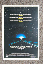 Close Encounters of the Third Kind Lobby Card Movie Poster