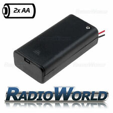 Double Wired Battery Holder / Box AA / R6 x2  Model / DIY  / Toy / RC