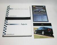 2004 Chevrolet Impala Factory Original Owners Manual Book Portfolio #5