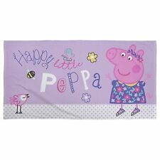 cool beach towels for girls. Peppa Pig Happy Beach Bath Towel 100 Cotton Cool Towels For Girls