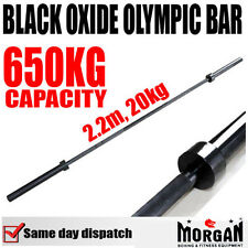20kg 2.2m CROSSFIT OLYMPIC SIZE BAR - barbell weights weight lifting cross fit