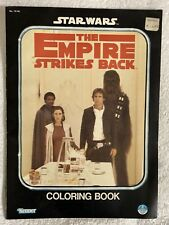 1980 Kenner Star Wars The Empire Strikes Back Coloring Book Used.