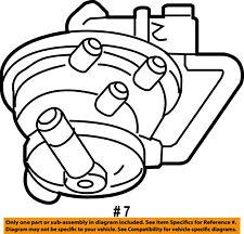 Dodge CHRYSLER OEM 01-03 Durango Vapor Canister-Detection Pump 4891422AD