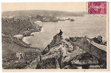 CPA 22 - TREGASTEL PRIMEL (Côtes d'Armor) 5. La Baie et la Colline du Sémaphore